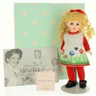 Madam Alexander Itsy Bitsy Spider Retired Nursery Rhyme Doll #38785 In Box