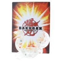 Bakugan Lumagrowl Rare Clear Diamond Guardian Invaders DNA 700G with Card