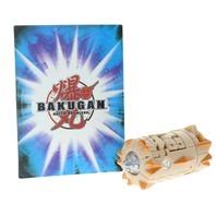Bakugan Battle Brawlers Subterra Tan Lashor Rare Silver Markings with card