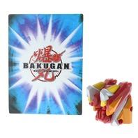 Bakugan Battle Brawlers Beam Blitzer Red Gold Guardian Invaders DNA 120g w/ Card