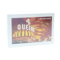 4 Queens Hotel and Casino Las Vegas Deck of Playing Cards Sealed in plastic