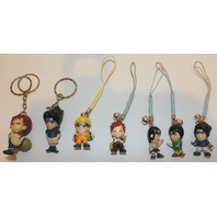 Boku my Hero Academia  Mini Figure Mascot Key Chain Charm collection lot of 7