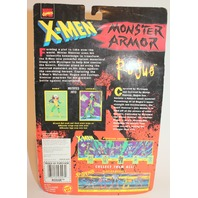 X-Men Rogue Monster Armor Figure No 43247 Mavell 1997 Snap-on Cyclaw Armor