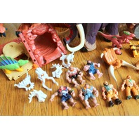 Imaginext Dinosaurs T-Rex Mountain Building with Exras Set