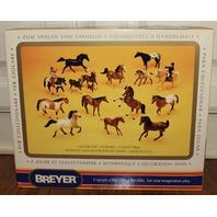 NIB New Retired Breyer Horse #983 Equus Arabian Racehorse White Stallion
