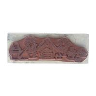 Hero Arts Welcome Birdhouse Garden Themed Wooden Rubber Stamp