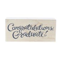 PSX Congratulations Graduate! F-2593 Wooden Rubber Stamp