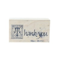 PSX Thank You E-509 Words Writing Wooden Rubber Stamp