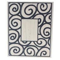 All Night Media Spiral Frame 301K Wooden Rubber Stamp