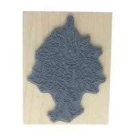 Art Impressions Rouse Bouquette Cluster Wooden Rubber Stamp