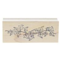 Art ImpressionsVining Ivy Wooden Rubber Stamp