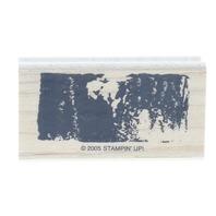 Stampin Up Grunge Image 2005 Wooden Rubber Stamp