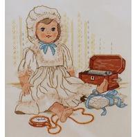 "Vintage Stitchery Keepsakes and Memories Frame 14' x 18"" Kit"