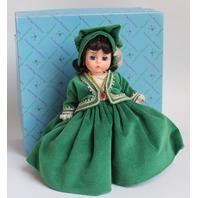 Madame Alexander Scarlett Ohara Jubilee Green Dress #400 With Box