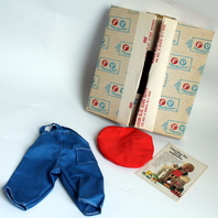 Vintage Fisher Price My Friend Mandy Jenny Blue Jeans Outfit Minty New in Original Box