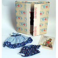 Vintage Fisher Price My Friend Mandy Jenny Pinafore Outfit Mint New Original Box