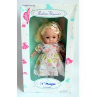 "Madame Alexander 14"" Megan Let's Play Soft Body Doll"