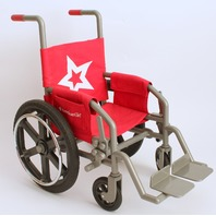 American Girl Doll Retired Berry Wheelchair Sick or Injured Doll