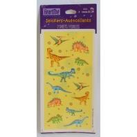 Hallmark Heartline 2 Sheet  Dinosaurs T-Rex Stegasaurus Brontosaurus