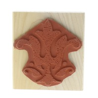 Stampin Up 2006 Fleur Di Lis Architectural design Wooden Rubber Stamp