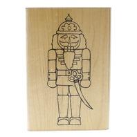 The Nutcracker U 144 Jrl Design Dots Wooden Rubber Stamp