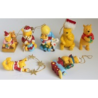 Disney Midwest Winnie the Pooh and Piglet Christmas Ornaments Retired Lot