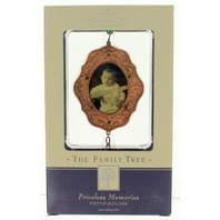 Hallmark Keepsake Priceless Memories Beaded Photo Holder Family Tree Collection