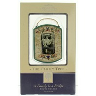 Hallmark Keepsake A Family is a Bridge Photo Holder Family Tree Collection