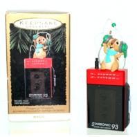 Hallmark Starsonic 1993 Messages of Christmas Recorder Ornament Magic