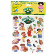 Cabbage Patch Kids Puffy Decal Stickers Stick-ons 1983 Sealed New