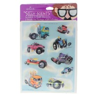 Hallmark 983 Collectible Stickers Silly Scents Monster Truck Diesel Fuel Smell