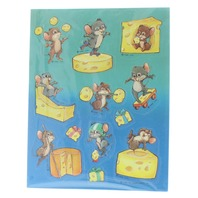 Hallmark Collectible Stickers Silly Scents Mouse with his Cheese Scent
