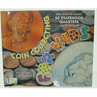 Coin Collecting for Kids with slots to collect 50 statehood quarters & more