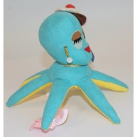 New Dream Pets Reissue by Dakin Mimi Octopus Aqua Color #16
