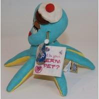 New Dream Pets Reissue by Dakin Mimi Octopus Aqua Color #16