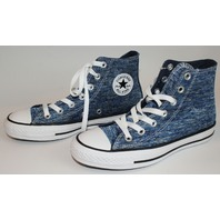 Womens Teens NEW Converse All Star Hi Top Sz 6 Blue Sneakers