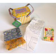Muffy Vanderbear Sewing Things Accessories Kit for Making Aprons in Original Tin Box