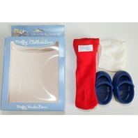 Muffy Vanderbear Clothesline Collection Boxed Socks and Shoes Set Outfit