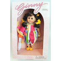 """Vogue 8"""" Ginny Doll New in Original Box 1995 Puppet Theatre Circus Outfit Set"""