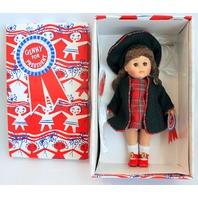"""Vogue 8"""" Ginny Doll for President New in Original Box Whistle Stop Outfit Dress"""