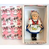 "Vogue 8"" Ginny Doll Pink Box Norway Doll from Around the World Original Box"