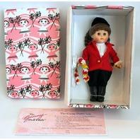 "Vogue 8"" Ginny Doll Pink Box Winners Circle Equestrian Horse Rider in Original Box"
