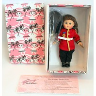 """Vogue 8"""" Ginny Doll Pink Box England Dolls of the World Soldier in Original Box"""