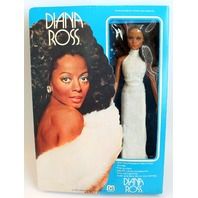 """Vintage Mego Diana Ross Doll 12"""" Doll 1977 New in Original Box!"""