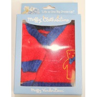 Muffy Vanderbear Clothesline Collection Boxed Teddy Bear Logo Sweater