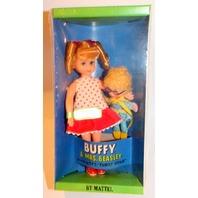 1967 MATTEL NEW SEALED BUFFY & MRS.BEASLEY TUTTI SIZE Mod Vintage Barbie Friend