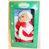 Muffy Vanderbear Couture White Christmas Red Velvet and Fur Coat Outfit