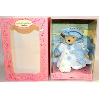 Muffy Vanderbear Couture Snow Quen with Blue Fox Winter Coat Outfit