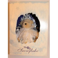 Muffy Vanderbear Snowflake 1993 Limited Edition Festive Ice Bear Outfit