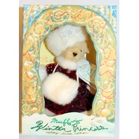 Muffy Vanderbear Winter Princess Holiday Limited Edition Fur Muff Hat Outfit